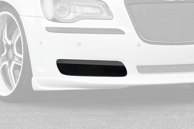 Fog Light Covers  2 Pc. Carbon Fiber Look