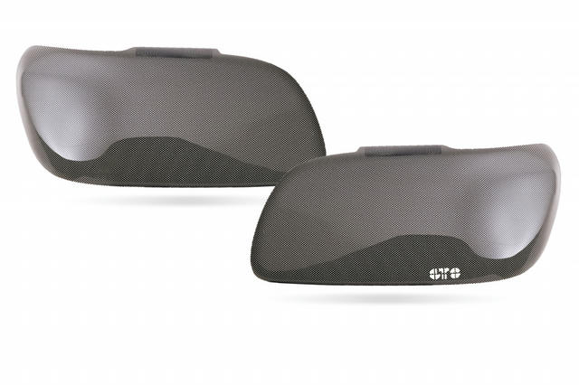 Taillight Cover  2 Pc. Carbon Fiber Look