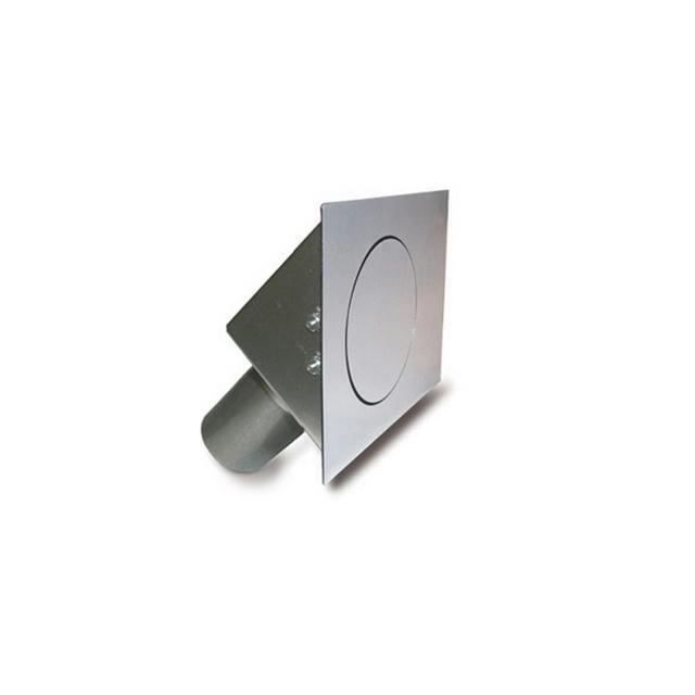 Fuel Door Kit  45 Series Flat Oval  4-3/4in X 3