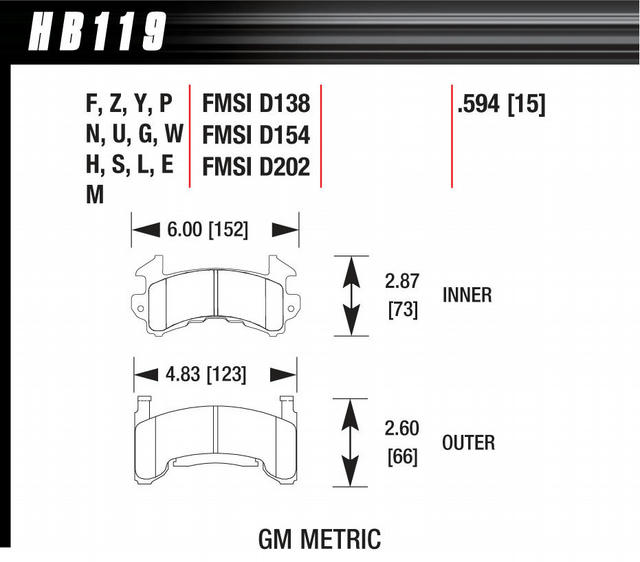 Metric GM DTC-70