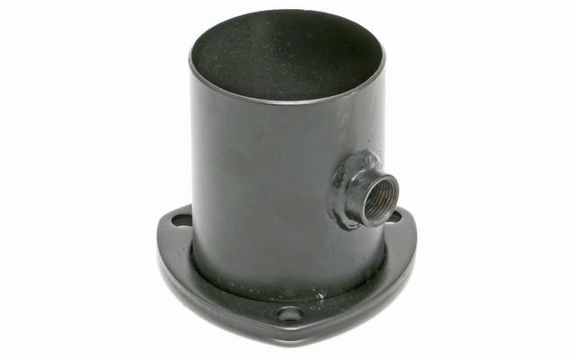 3in To 3in Collector w/O2 Sensor Bung 3 Bolt