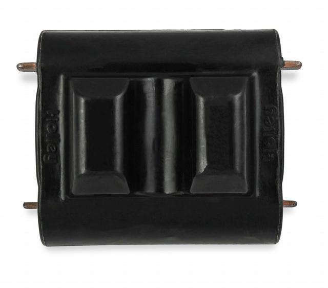 SBC Motor Mount Inserts Black Polyurethane