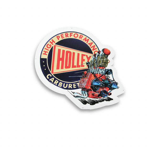 Holley Metal Sign
