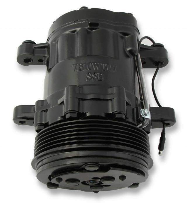 AC Compressor Sanden SD7 R-134A Black