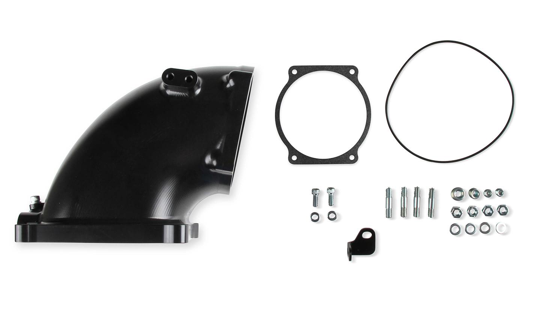Billet Elbow Kit GM LS to 4500 - Black