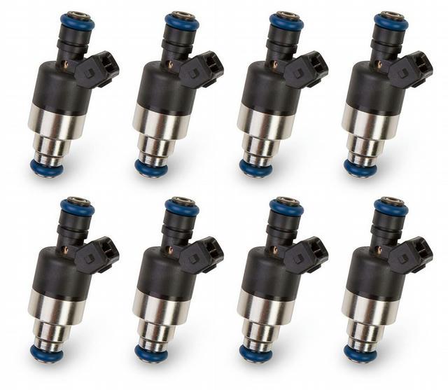 160 LB/HR Fuel Injectors 8pk Low Impedance