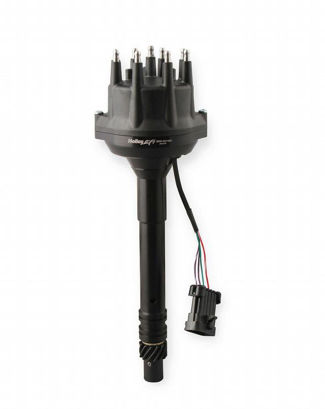 Dual Sync Distributor EFI - Chevy V8 - Black