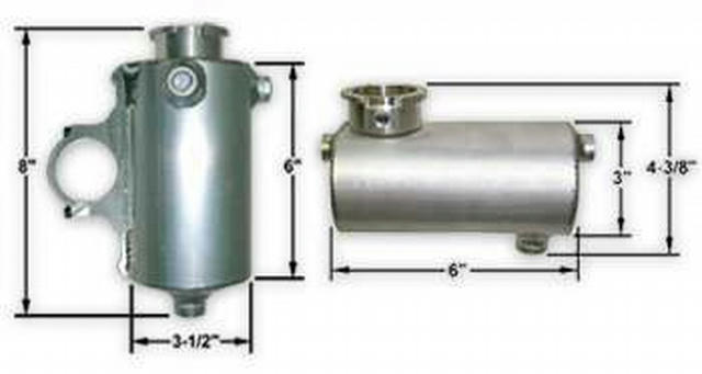 Vertical Surge Tank Clamp On 1.75in