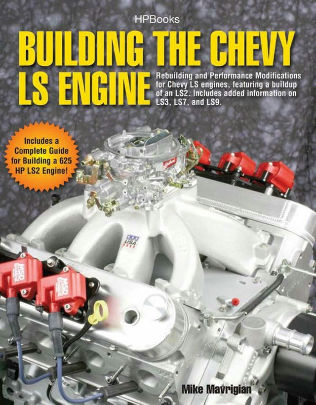 Building Chevy LS Engine Book