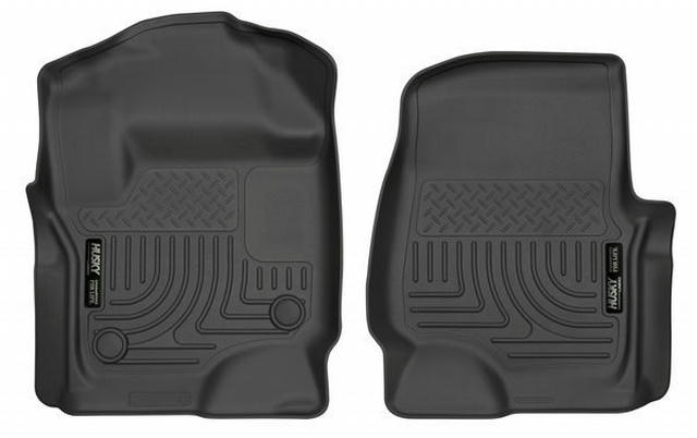 17-   Ford F250 Front Floor Liners Black
