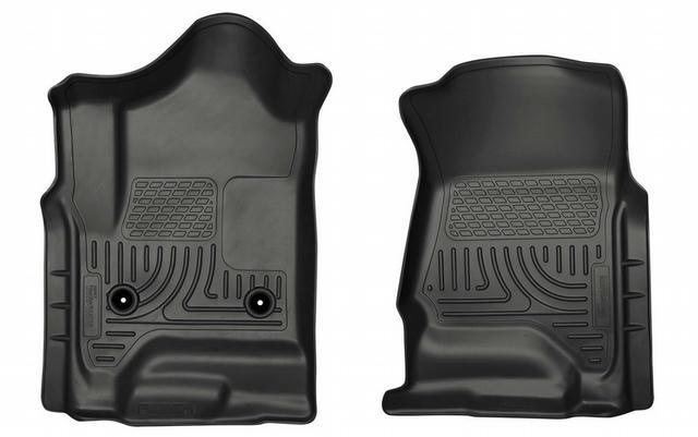 15-   GM 2500HD Reg Cab Floor Liners Black