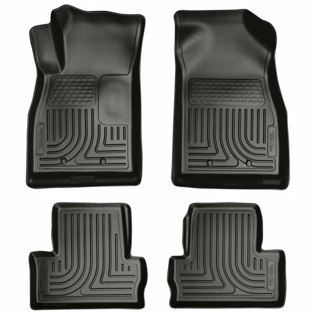 11-  Chevy Volt Front/ 2nd Floor Liners Black
