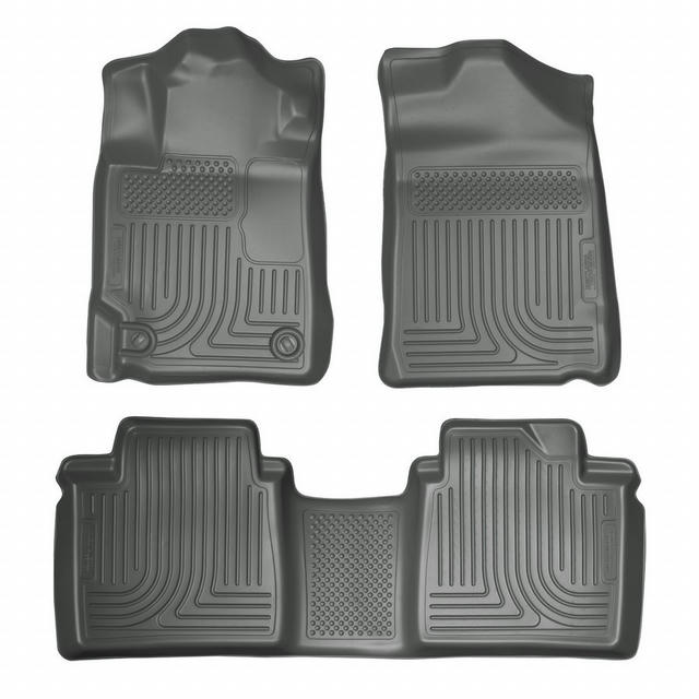 07-11 Toyota Camry Front /2nd Floor Liners Grey