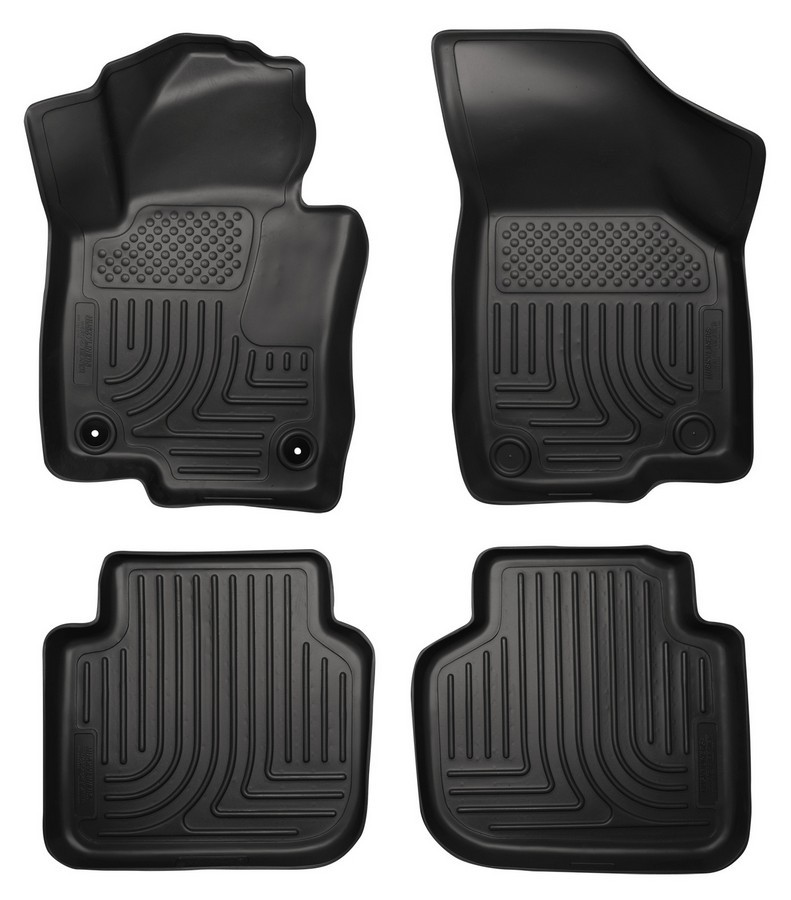 12-  Volkswagen Passat Front/2nd Floor Liners