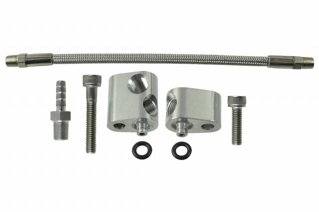 Head Coolant Steam Port Crossover Bypass Hose