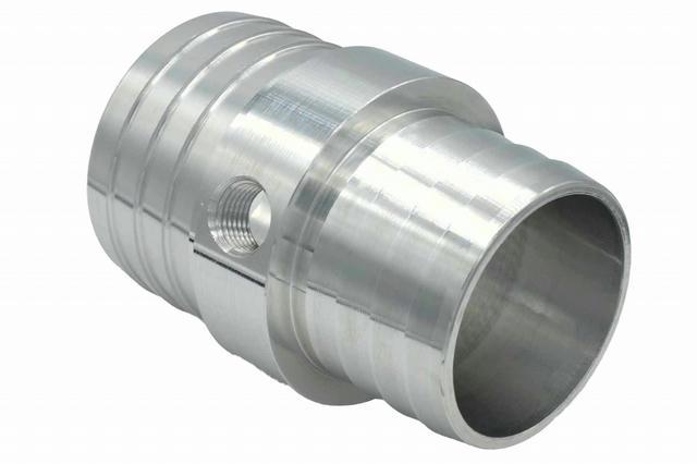 1-1/4 to 1-1/2 Hose w/ 1/8NPT Steam Port Adapt