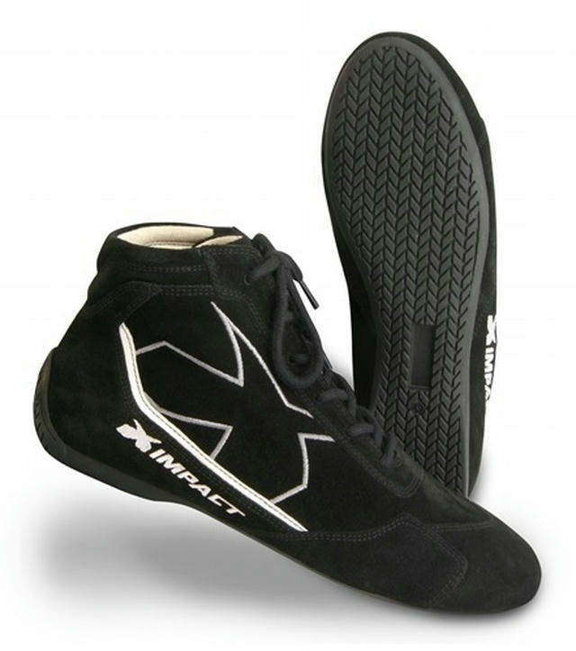 Shoe Alpha Black 8 SFI3.3/5