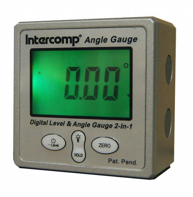 Digital Angle Gauge w/Magnetic Base