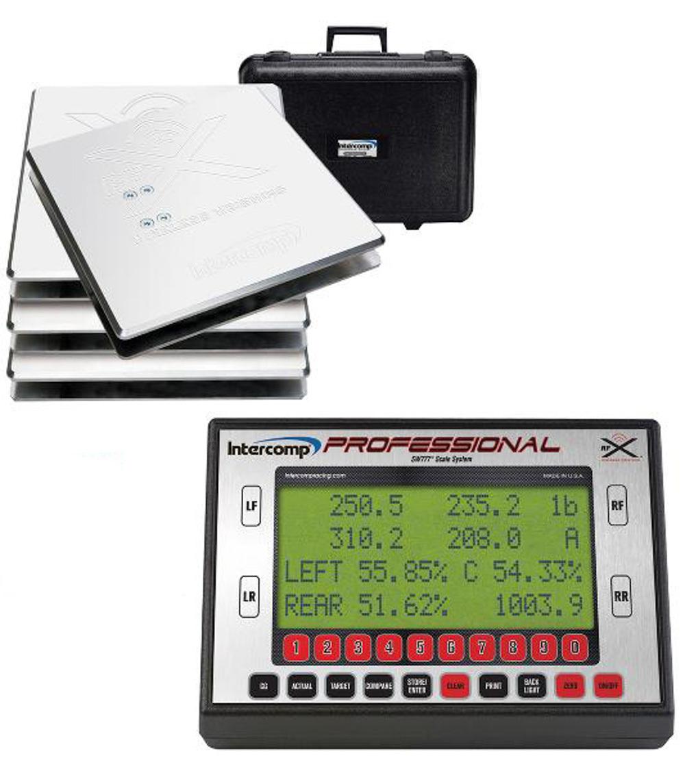 SW777 Pro Kart Scales Wireless - Bluetooth