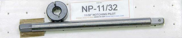 Piston Notcher Pilot - 11/32