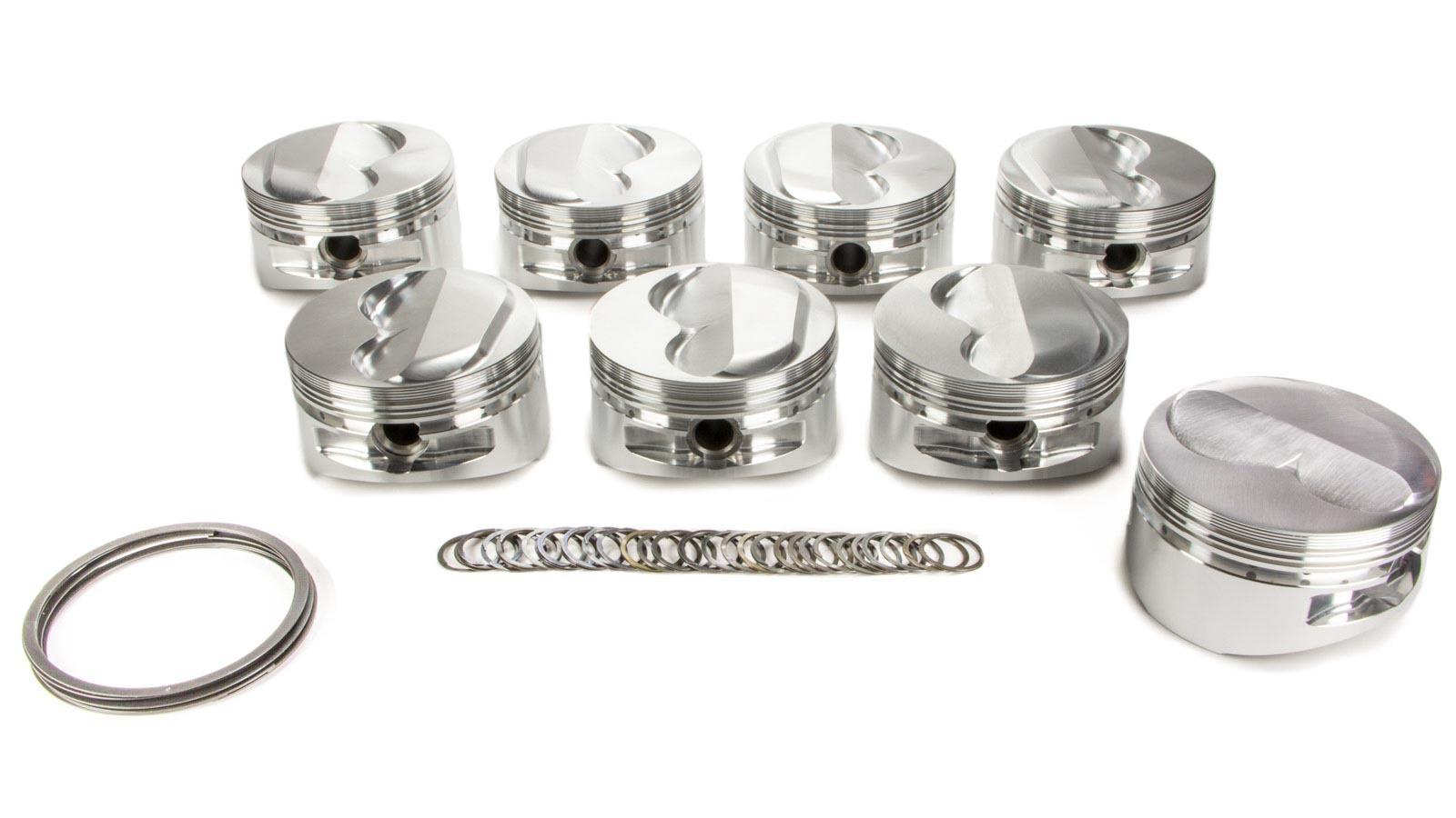 SBC Domed Piston Set 4.155 Bore +3cc
