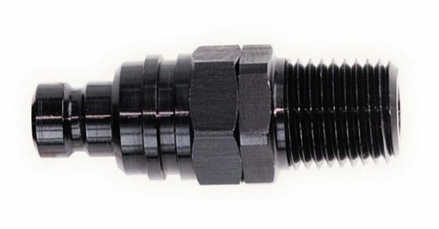 Q/R Male 3/4 NPT Plug Black