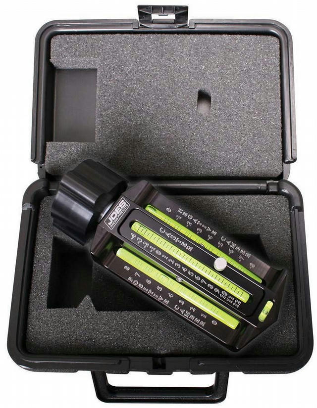 Caster Camber Gauge With Magnetic Adapter & Case