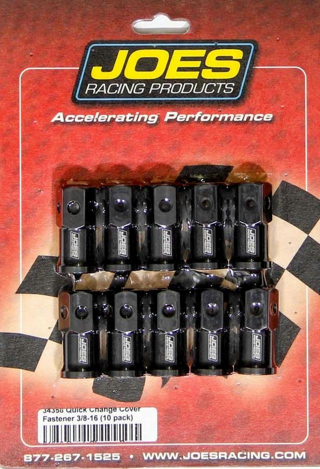LW Aluminum Quick Change Cover Nut Kit - 10 Pack