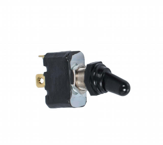 Toggle Switch w/Rubber Boot Weather Resistant