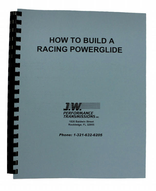 How To Build Racing P/G Trans Book