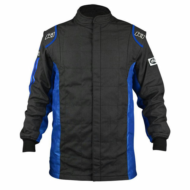 Jacket Sportsman Black / Blue Medium
