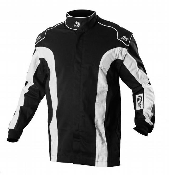 Jacket Triumph 2 Black Large /-X-Large SFI 1