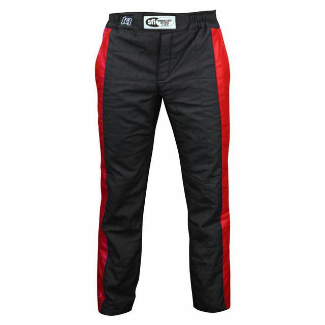 Pant Sportsman Black / Red Medium