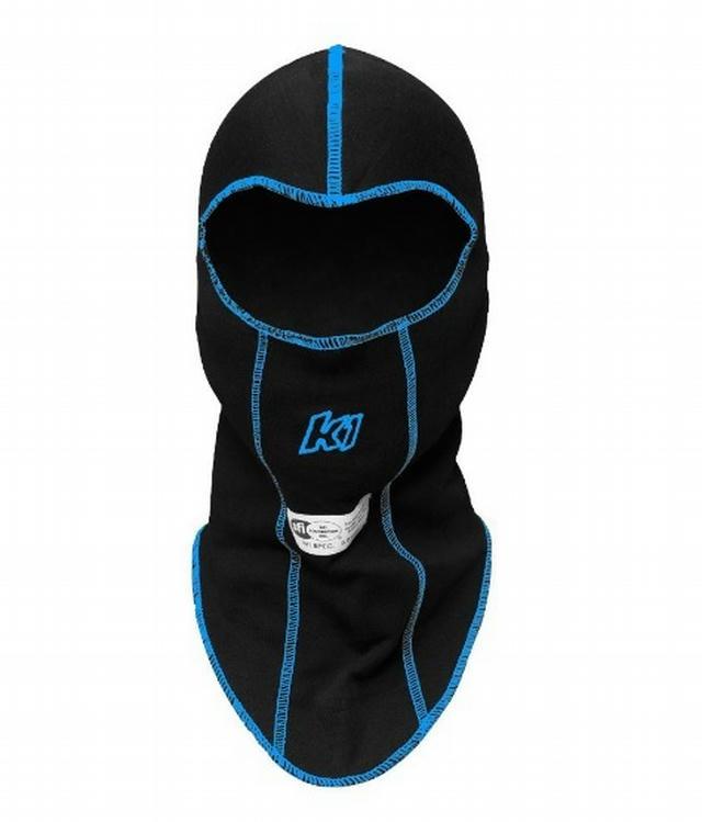 Balaclava Head Sock Black Single Layer