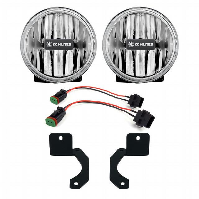 18-   Jeep Wrangler JL G4 LED Amber Fog Lights
