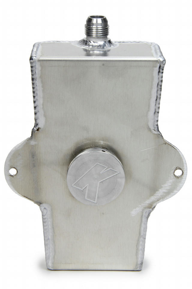 Rear End Fill Tank w/#10 Fitting & Vented Cap