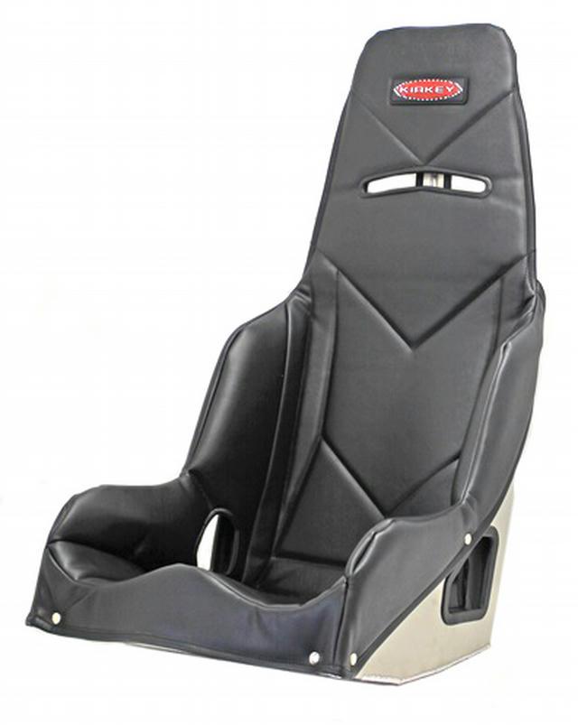 Seat Cover Black Vinyl Fits 55160