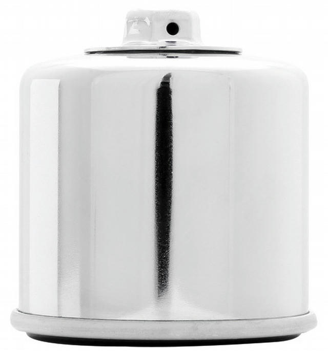 Oil Filter Powersports Canister Chrome