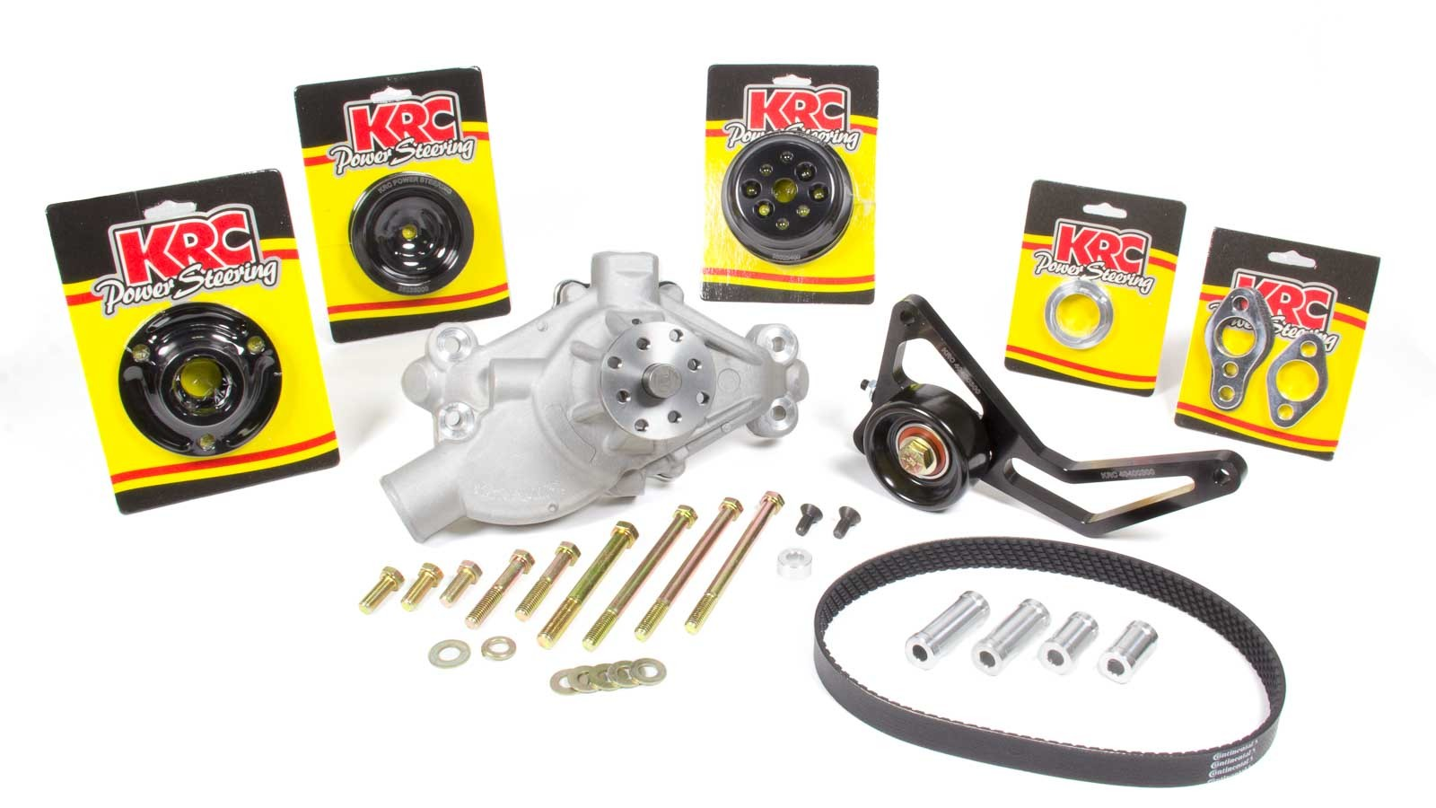 Front Drive Kit w/ Idler SBC Crate