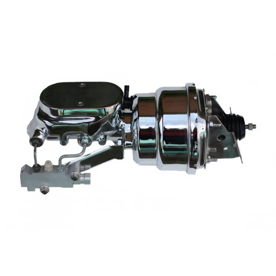 7in Brake Booster Dual 1-1/8in MC Disc/Disc