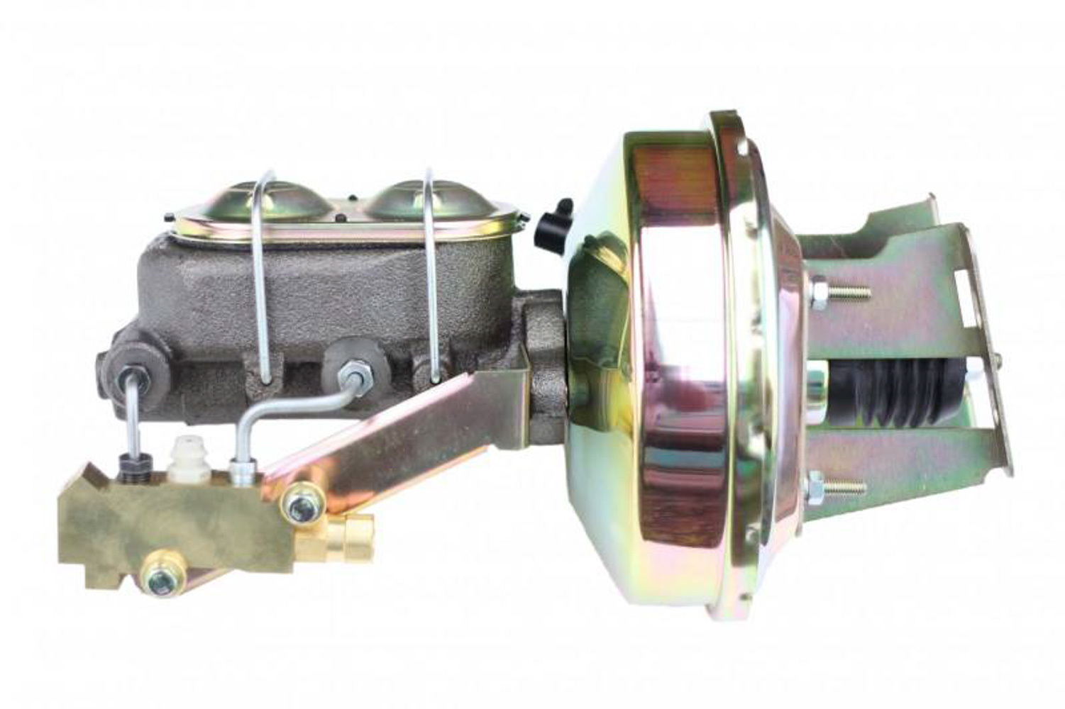9 in power booster   1-1 /8 in Bore master  side