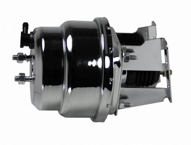 7in Dual Chrome Power Bo oster