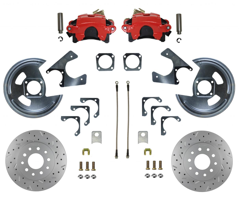 Rear Disc Brake Conversi on with MaxGrip XDS
