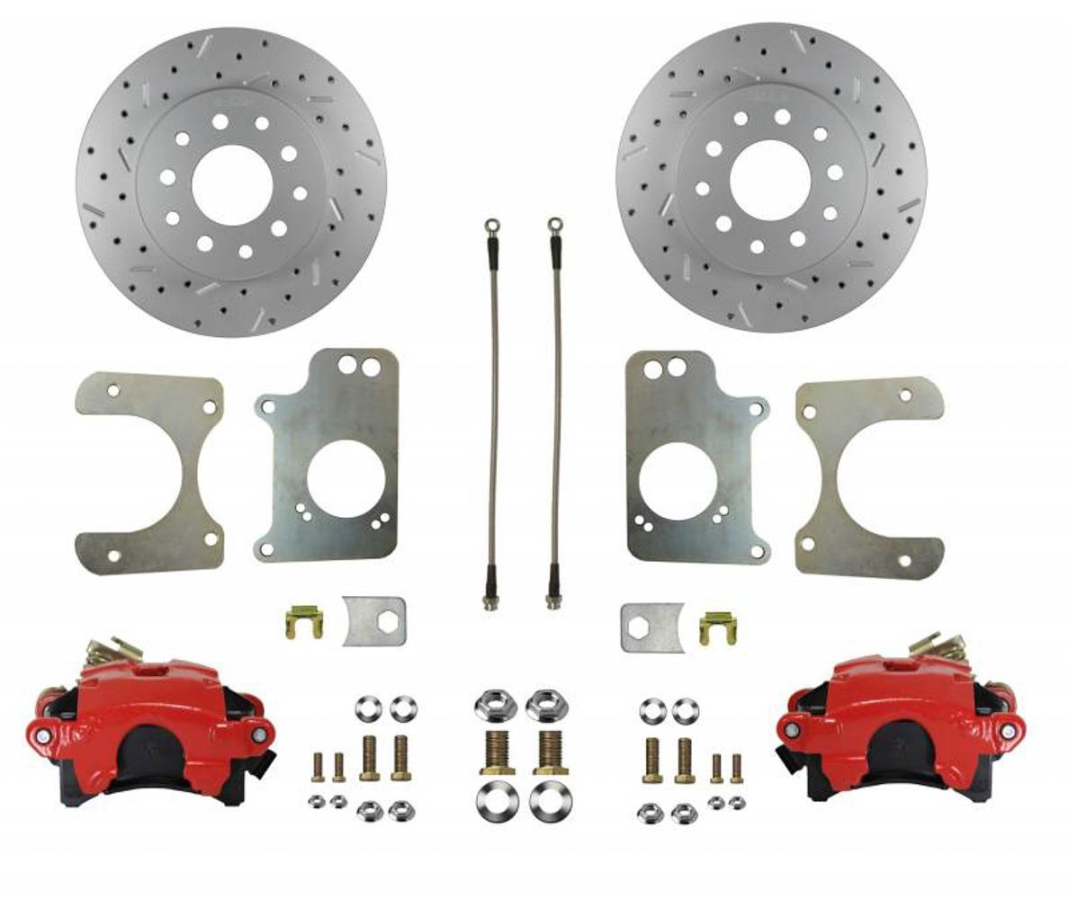 GM Rear Disc Brake Conve rsion - Single Piston GM