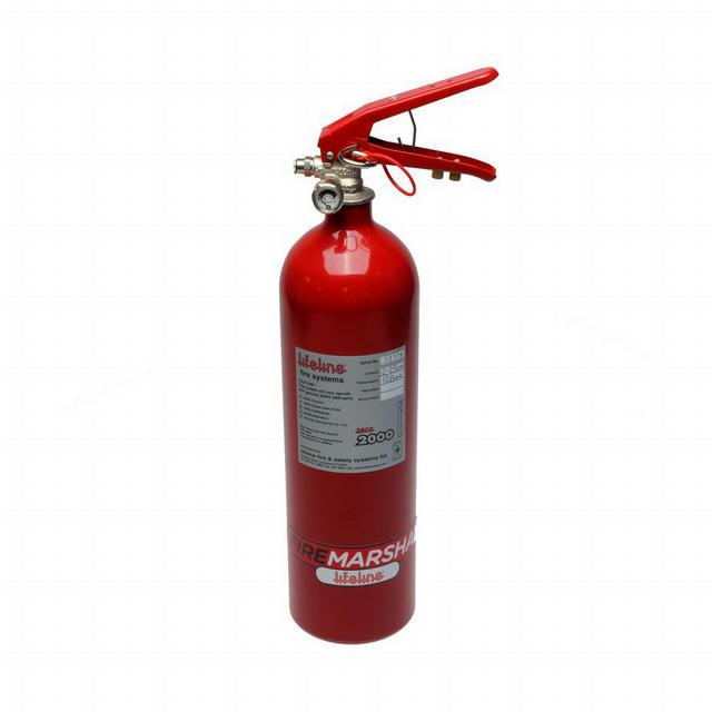Fire Suppression Club Bottle Zero 2000 2.25 KG