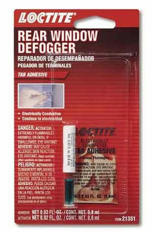 Rear Window Defogger Tab Adhesive