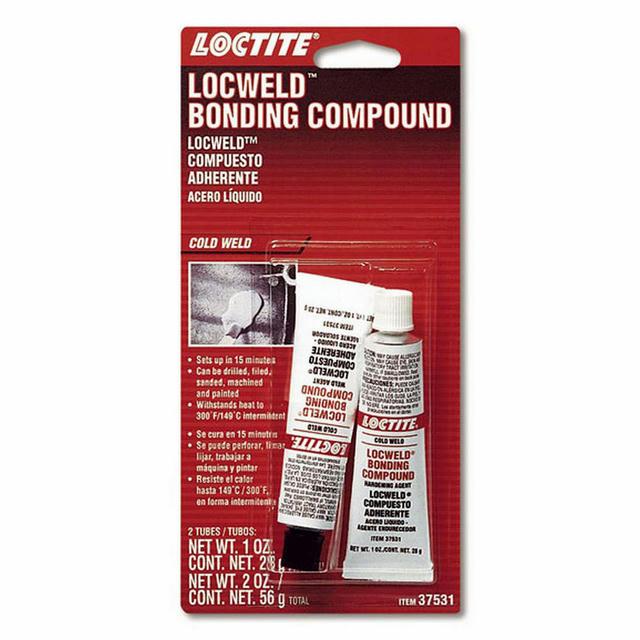 Locweld Bonding Compound 2pk 1oz Tube