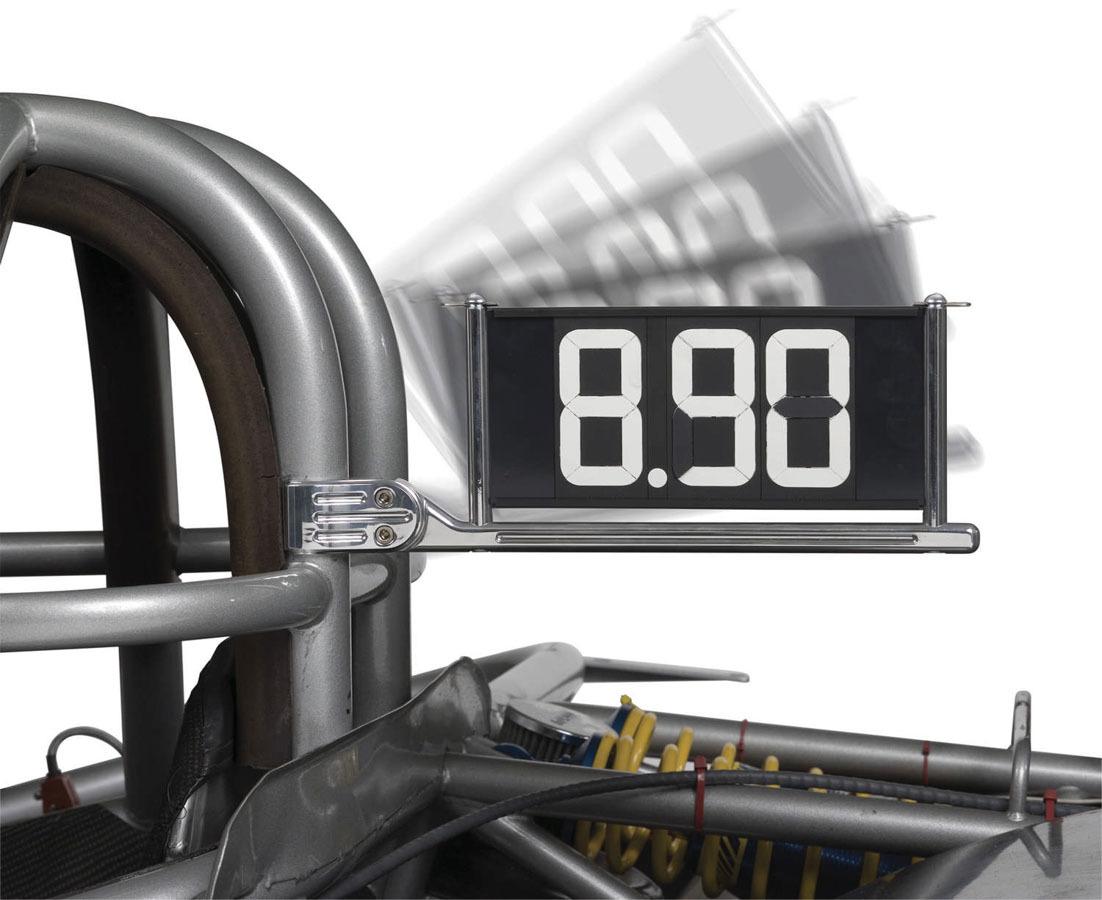 Dial-In Board w/Cage Mount Bracket 1-5/8in