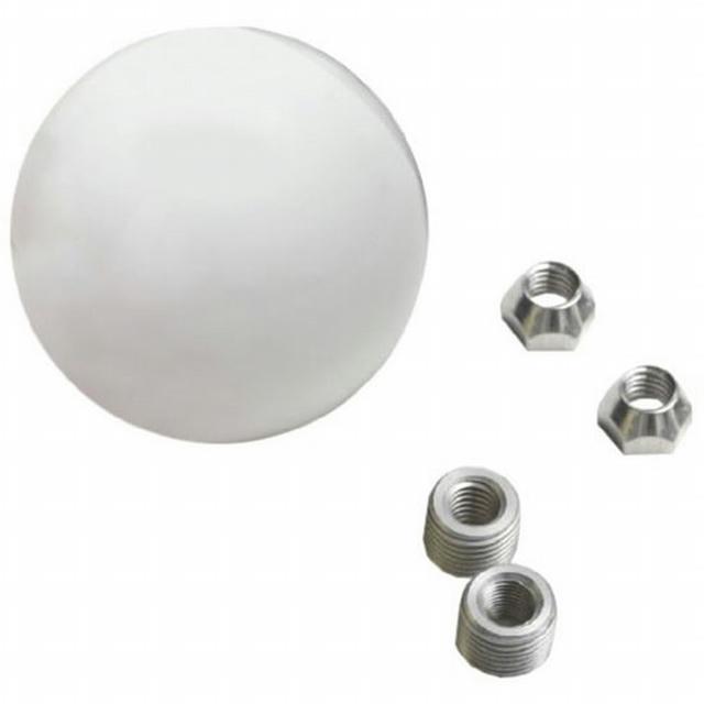 Shift Knob 2-1/4in White