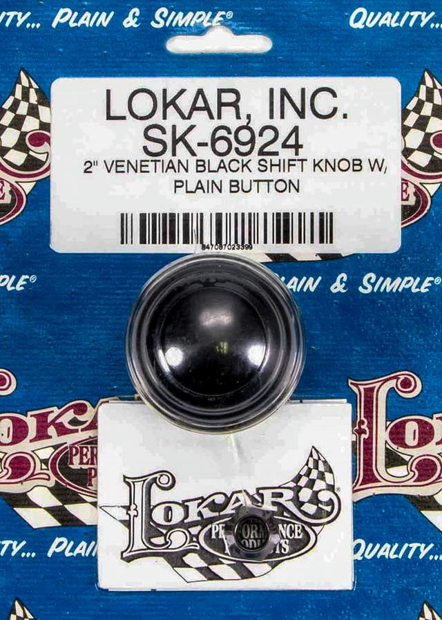 2in Shift Knob Venetian Black w/Button